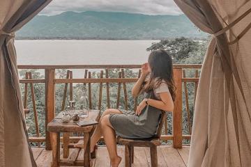 Khu dã ngoại Lak Tented Camp - 'ốc đảo' yên bình trong lòng Đắk Lắk