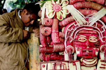 Vui cùng lễ hội củ cải Oaxaca Mexico vào dịp Giáng sinh