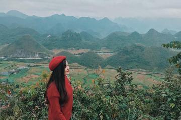 Ngỡ ngàng trước cảnh đẹp như tranh ở núi đôi Quản Bạ, Hà Giang