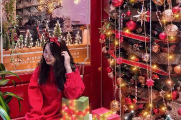 Sống ảo 'mệt nghỉ' tại 7 quán cafe decor Noel đẹp rụng tim tại Sài Gòn