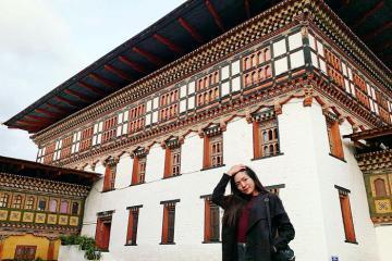 Pháo đài Tashichho Dzong – niềm tự hào của thủ đô Thimphu, Bhutan