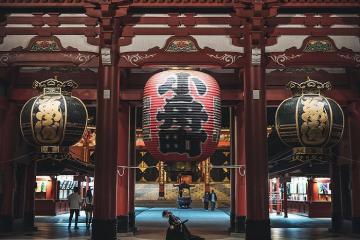 Tham quan chùa Sensoji Nhật Bản chiêm ngưỡng kiến trúc ngàn năm độc đáo