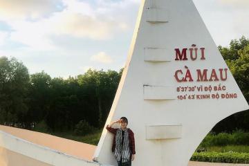 Tìm về Đất Mũi thăm công viên Văn hóa Du lịch Cà Mau
