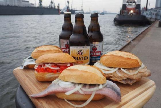 Xiêu lòng trước những món ăn ngon ở Hamburg trứ danh