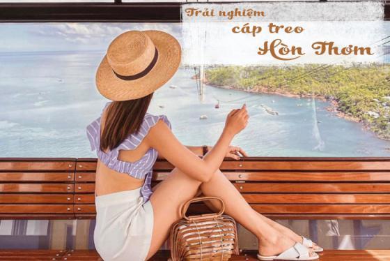 Trải nghiệm cáp treo Hòn Thơm ngắm toàn cảnh Phú Quốc từ trên cao