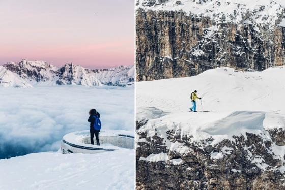 Những trải nghiệm du lịch ấn tượng trên dãy núi Alps hùng vĩ
