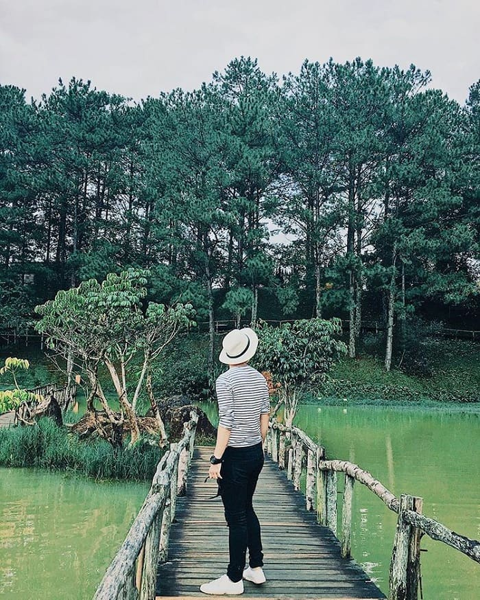 Dalat golden valley - peaceful in green space