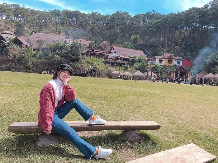 Dalat golden valley - peaceful to Cu Lan village