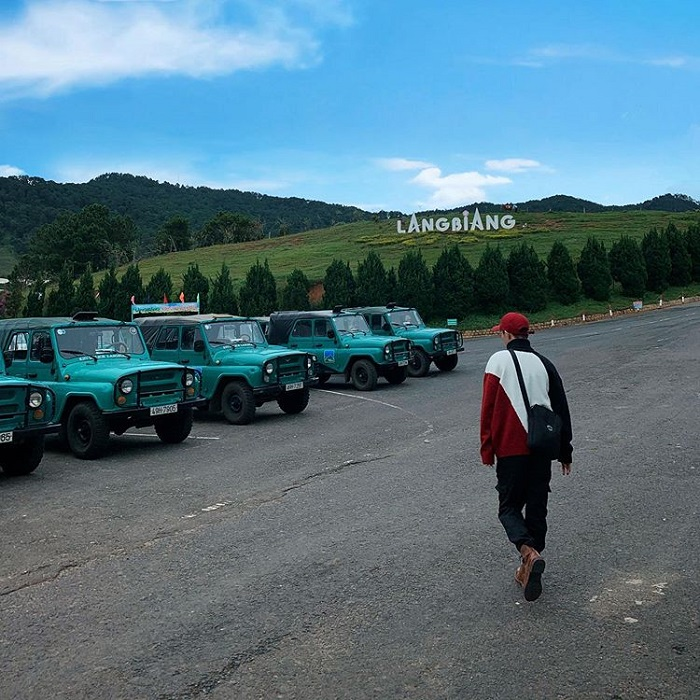 Dalat golden valley - check in Langbiang mountain