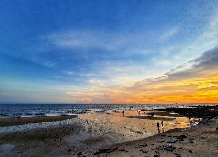 khung cảnh yên bình của Bãi Dứa Vũng Tàu