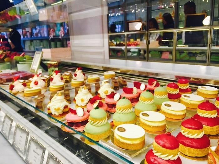 Cute bakery in Laduree - French Food Culture