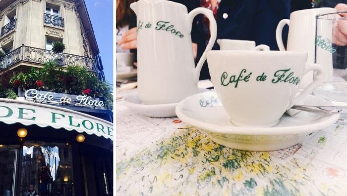 Cafe des Flores at Saint Germain des Pres - French Culinary Culture