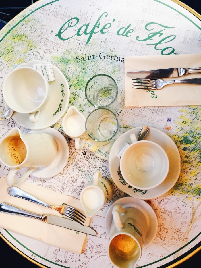 Cafe des Flores, a classic French cafe!  - French culinary culture