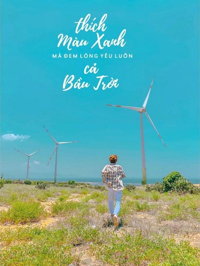quạt gió Điện Phong - cánh đồng quạt gió ở Bình Thuận siêu đẹp