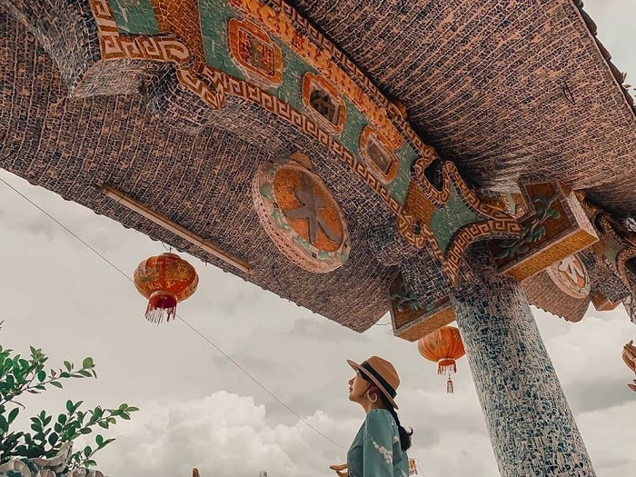 The beauty of Floating Temple on Saigon River