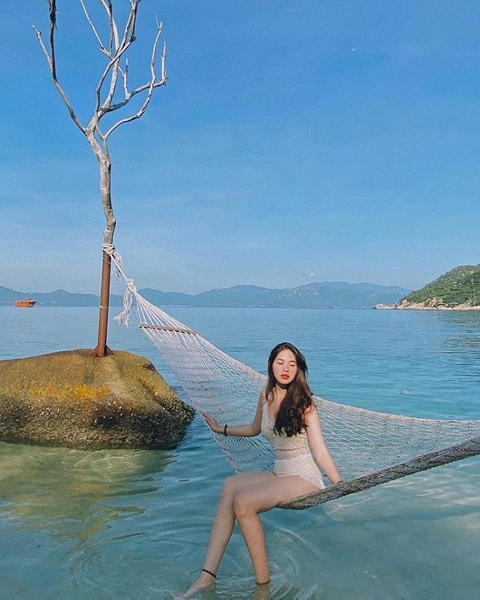 Vịnh Ninh Vân là điểm du lịch ở Ninh Hòa rất nổi tiếng