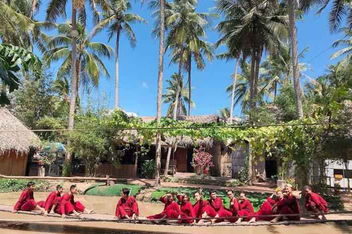 Check in khu du lịch Làng Bè Bến Tre - Vui chơi thả ga