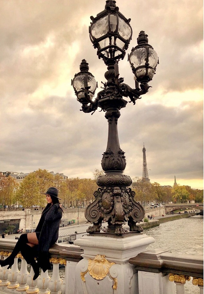 Alexandre III Bridge - a destination not to be missed when traveling to Paris France
