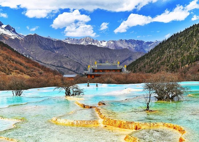 điểm du lịch phủ tuyết trắng tại Trung Quốc
