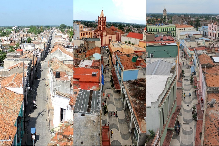 Name the old quarter in Cuba