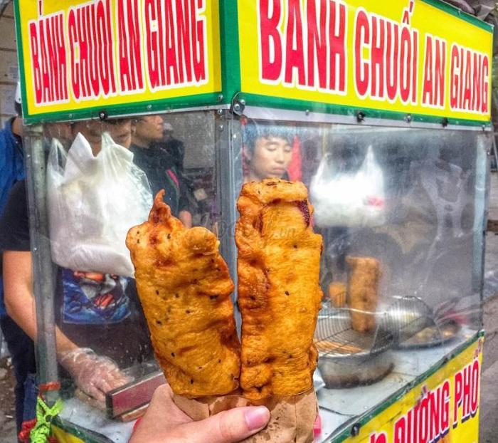 Bánh chuối An Giang 'đổ bộ' Hà Nội, món này có gì HOT?