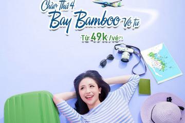 Vi vu thỏa thích cuối năm với chương trình 'Chào thứ 4 - bay Bamboo vô tư'