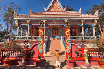 Ghé Sóc Trăng khám phá chùa Chén Kiểu với những nét độc lạ hấp dẫn