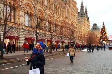 Chiêm ngưỡng khoảnh khắc lung linh huyền ảo của Giáng Sinh ở Moscow