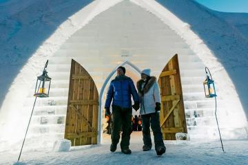 Chiêm ngưỡng khách sạn băng Ice Hotel đẹp như truyện cổ tích