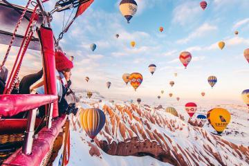 Khinh khí cầu Cappadocia – điểm nhấn thôi thúc khách du lịch đến Thổ Nhĩ Kỳ