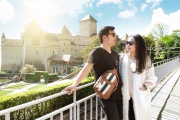 Château De Chillon - lâu đài của nàng tiên cá ngoài đời thực