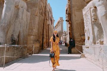 Chiêm ngưỡng các ngôi đền kỳ vĩ ở thành phố Luxor Ai Cập
