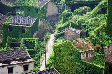 Hướng dẫn tham quan ngôi làng bị bỏ hoang cực HOT tại Thượng Hải
