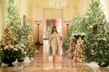 'Đột nhập' Nhà Trắng nhân dịp Giáng sinh gần kề