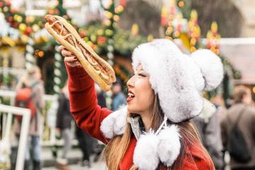 Hấp dẫn ẩm thực Giáng sinh nước Đức