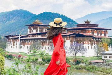 Những điểm đến 'check-in' là biết đang ở Bhutan
