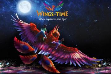 Mãn nhãn với show nhạc nước Wings Of Time Singapore