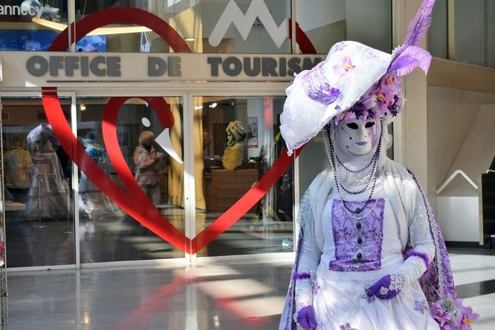 Bonlieu Central Tourist Office.  - Annecy Venetian Carnival