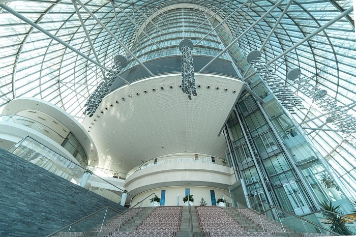 Aspire tower in famous Qatar