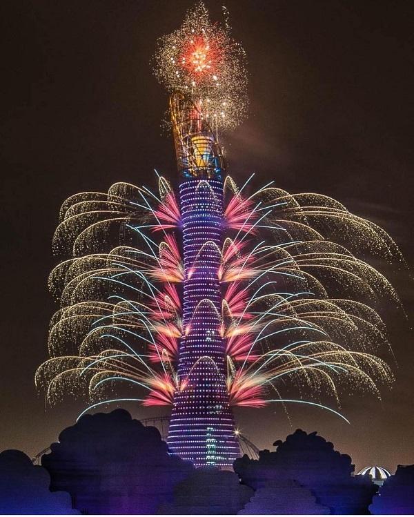 Aspire tower in Qatar attractive destination