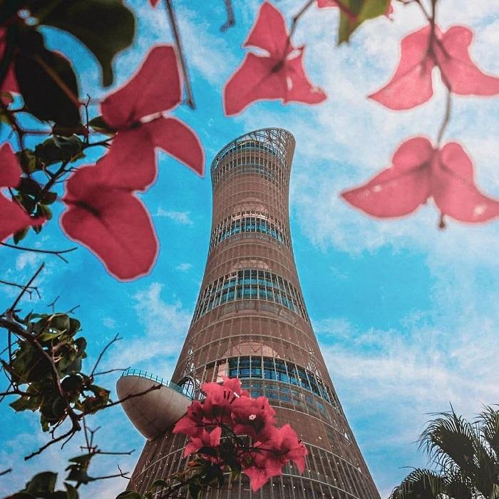 Aspire tower in Qatar