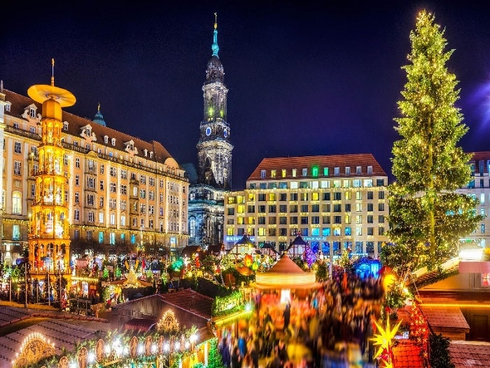 Dresden Market - The Christmas market in Germany