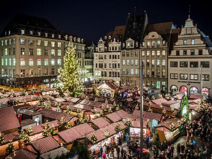 Leipzig Market - The Christmas market in Germany