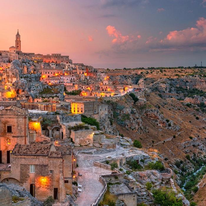 Matera, Basilicata - Những địa điểm ở Ý giống như trong truyện cổ tích