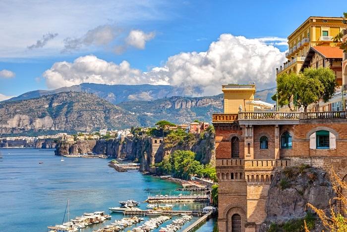 Sorrento, Campania - Những địa điểm ở Ý giống như trong truyện cổ tích