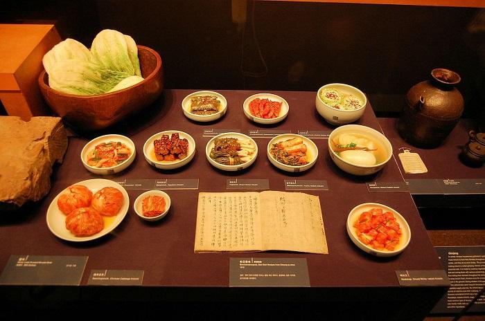 bảo tàng ẩm thực ở châu Á-kim-chi