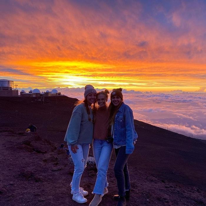 bình minh - thời điểm tuyệt đẹp tại vườn quốc gia Haleakala