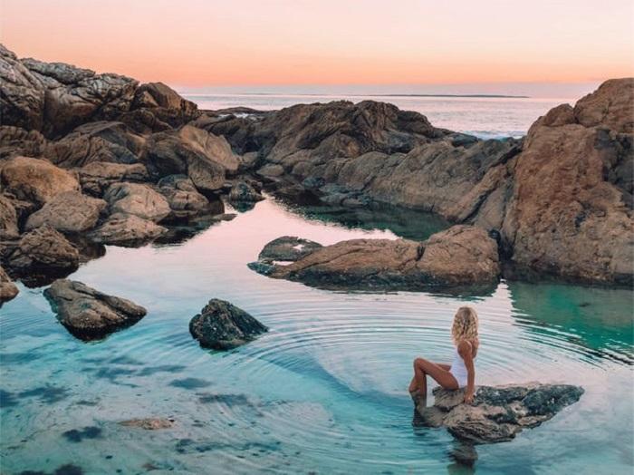 Bãi biển tí hon ở Australia