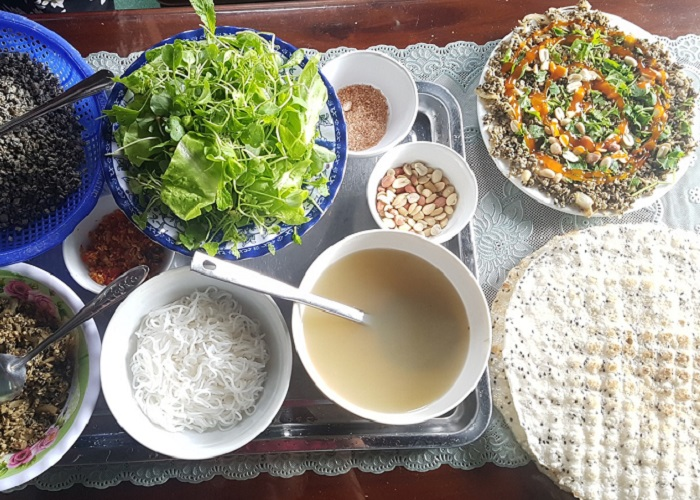 Vermicelli great-grandson Mai Xa - how to enjoy