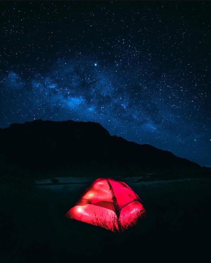 cắm trại - hoạt động thú vị tại' vườn quốc gia Haleakala